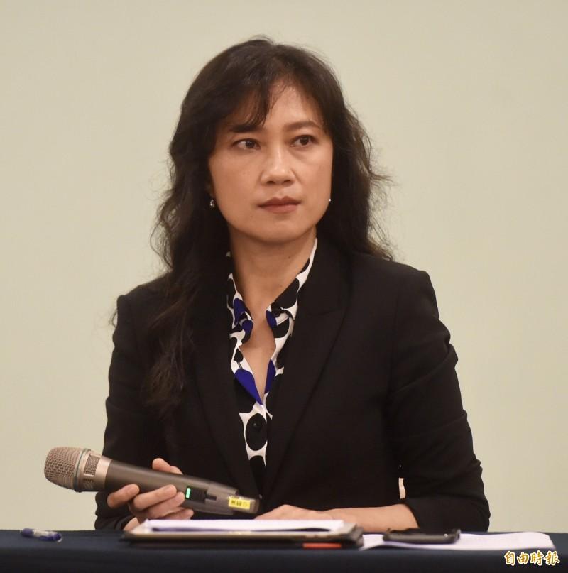 行政院發言人Kolas Yotaka(谷辣斯·尤達卡)。(記者簡榮豐攝)