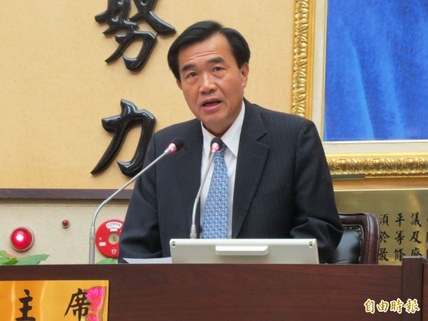 前台南市議長李全教。(資料照,記者蔡文居攝)