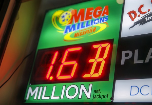 美國「大百萬」彩券頭獎已累計到16億美元。(歐新社)
