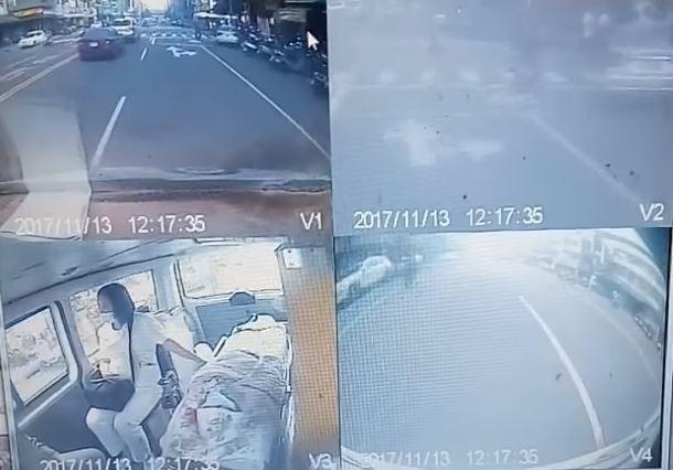 駕駛上網PO文控訴,駕駛救護車鳴笛過路口發生車禍竟被告又遭判刑。(圖擷自爆料公社)