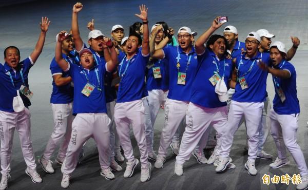 有網友表示,若辦世大運能讓台灣人不再感到自卑,讓「台灣民族」塑形,那世大運花那麼多錢算是非常值得。(資料照,記者張嘉明攝)