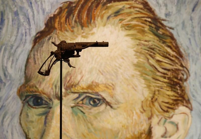 藝術史最著名武器!終結梵谷生命手槍570萬落槌