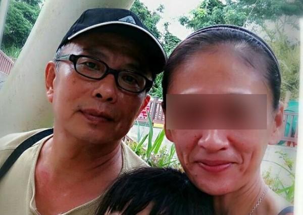 60歲的黃男與40歲的凃女談忘年戀,黃稱凃女「ㄚ頭」,凃女則稱黃男是「老頭」。(記者王捷翻攝)