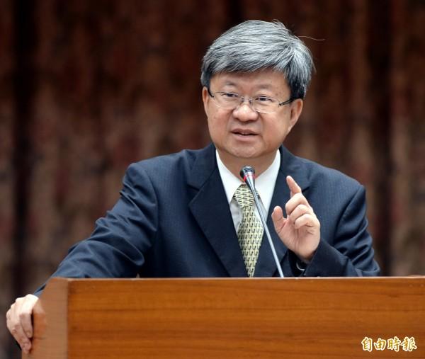 教育部長吳思華今日在立院表示,他沒在教育現場看到任何課綱爭議的問題。(資料照,記者林正堃攝)