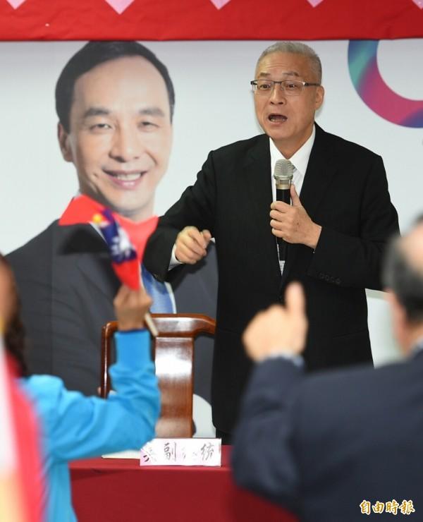 傳有國民黨立委認為,目前最有戰力參選黨主席的人是吳敦義。(資料照,記者張嘉明攝)