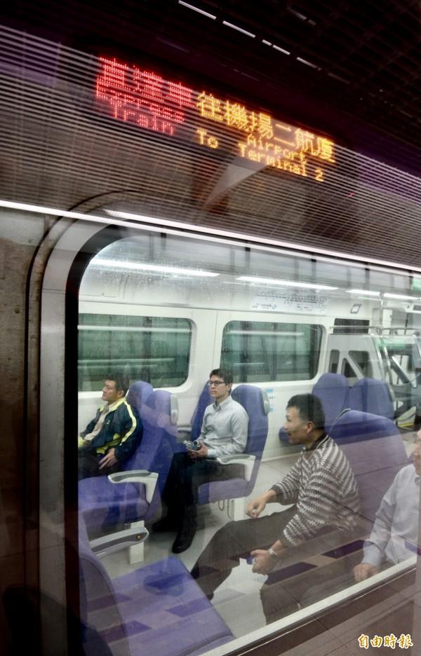 桃園機場捷運12項履勘前應改善事項都已處理完畢,交通部也正式啟動履勘作業程序,並於昨日舉辦履勘前置會議,選定12月29日、30日辦理履勘作業。(資料照,記者羅沛德攝)