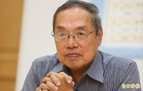 陳芳明表示,最近常在臉書看到「亡國感」這個字眼,但他認為,中國共產黨才有強烈的亡國感。(資料照)