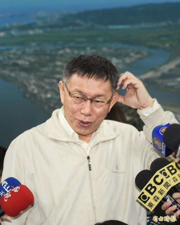 台北市長柯文哲的「強盜搶銀行說」,讓政治大學地政系教授徐世榮在臉書直批「荒謬」。(資料照)