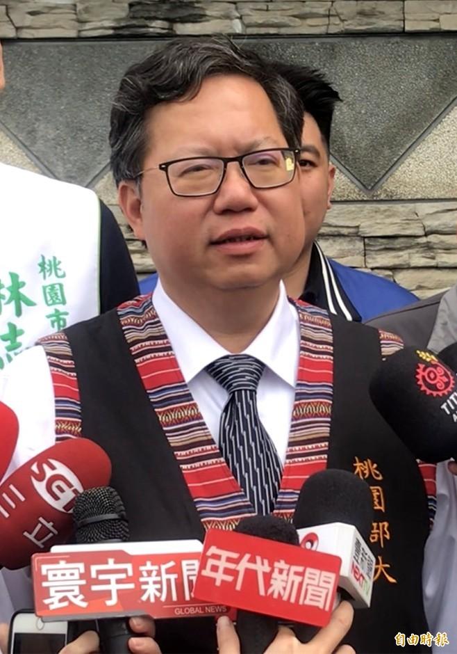 藍營基層拱韓國瑜選總統 鄭文燦:他不會去選