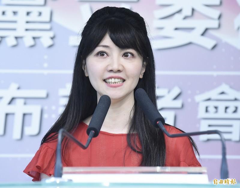 高嘉瑜承認曾說過效忠蔡英文,但強調自己僅是評估柯文哲不會參選。(資料照)