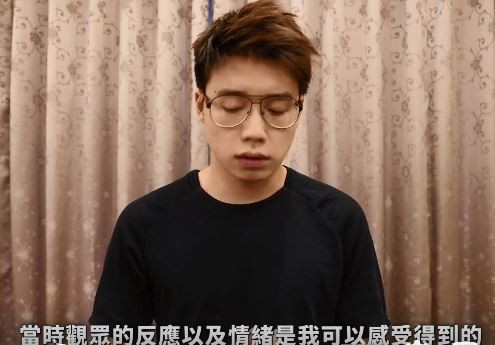 Toyz今日發出一段3分鐘的影片,全程用粵語來表達自己對這次失言的懊悔。(截自Toyz臉書)
