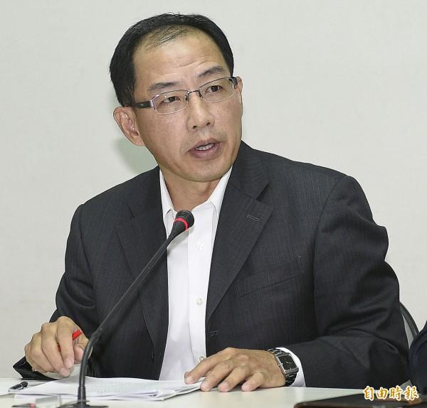 圖為農委會林務局副局長廖一光。(記者陳志曲攝)