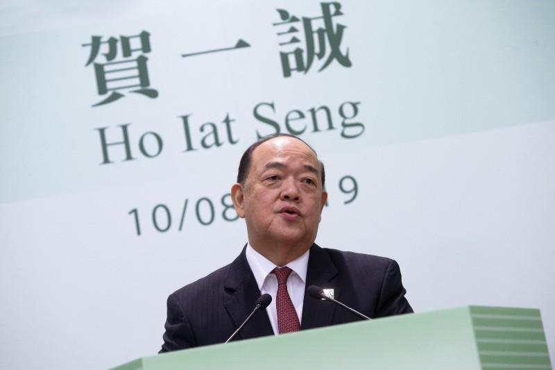 中國實施「一國兩制」的澳門特別行政區本週日(25日)將選舉新特首,但候選人只有一位,即北京支持的前立法會主席賀一誠。(歐新社)