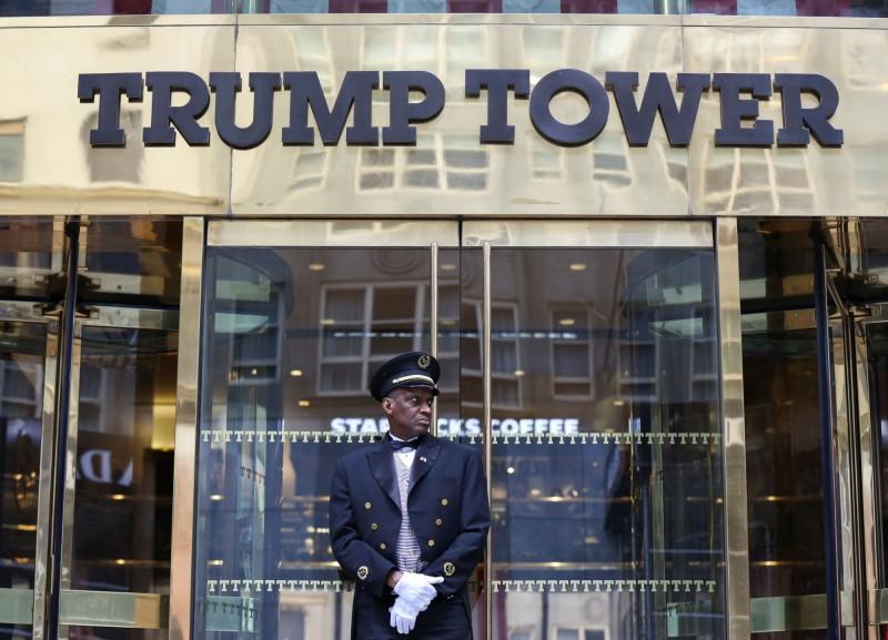 圖為位於紐約曼哈頓第五大道的川普大廈。(路透)