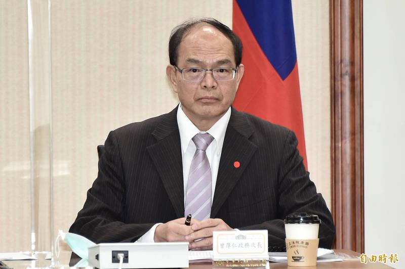 外交部政務次長曾厚仁出席立法院今17日舉辦「中華民國與捷克、西班牙國會友好聯誼會」成立大會。(記者塗建榮攝)