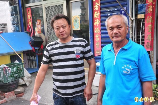 潘素雲家屬得知王裕隆槍決,痛批政府執行太慢。(記者蔡宗憲攝)