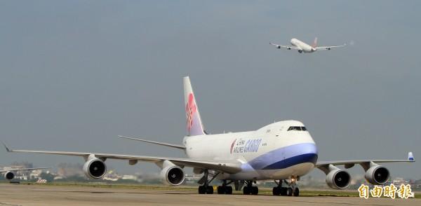 大阪關西機場陸續恢復,華航、虎航、長榮14日起能飛了。(華航提供)