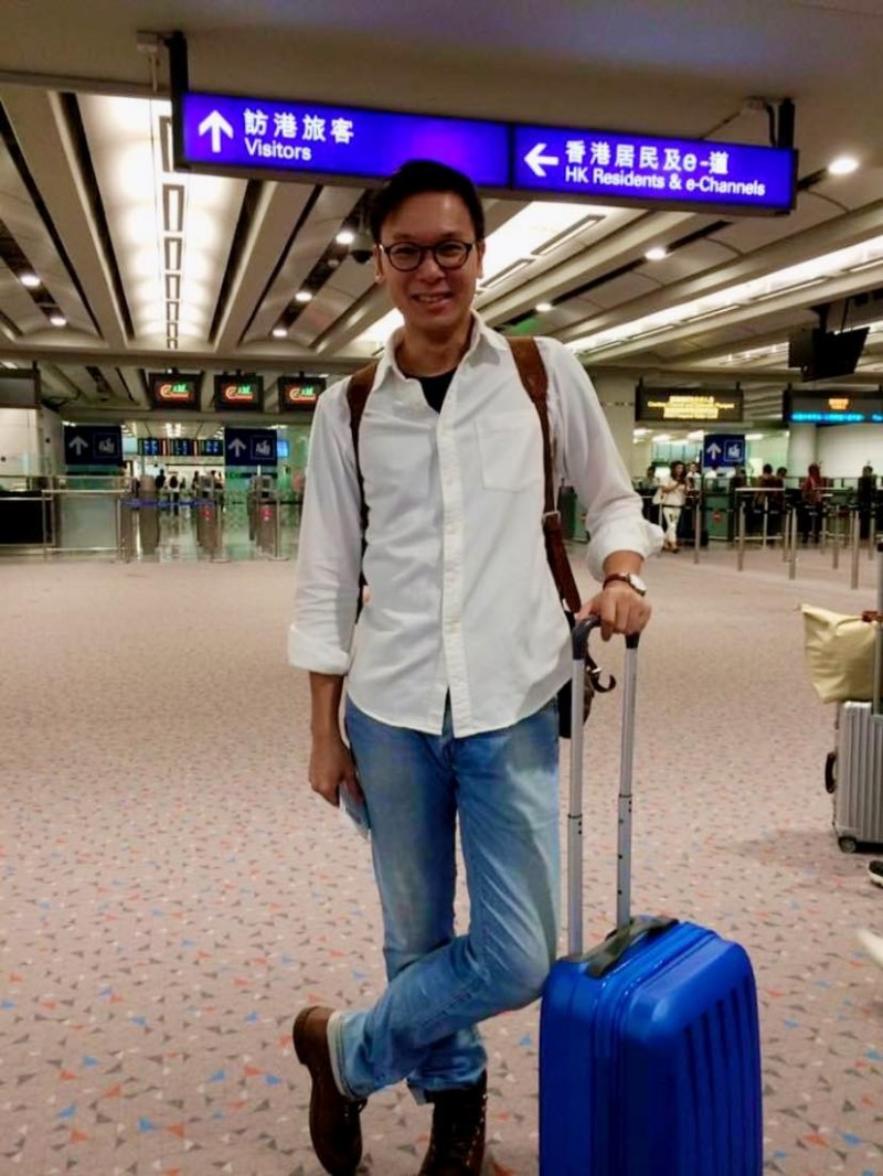民進黨副秘書長林飛帆今天(2日)凌晨在臉書發文指出,「短短幾年,港人奮起,和勇不割蓆,其實都是北京逼出來的結果」。(擷取自林飛帆臉書)