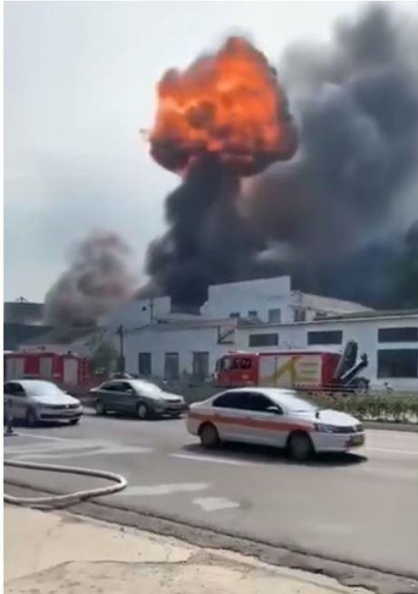 浙江寧波1工廠大火,致19死2傷。(圖擷取自網路)