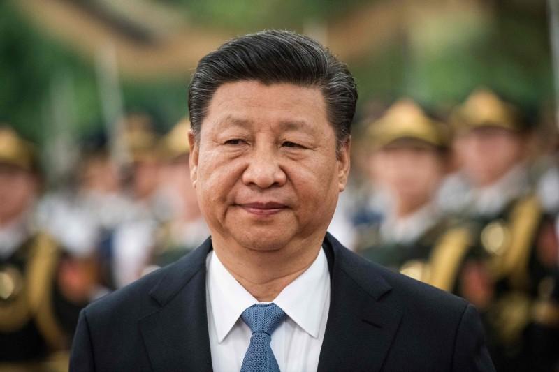 菲律賓前外交部長羅沙里歐等人3月向國際刑事法院指控中國國家主席習近平在南海犯下反人道罪。(法新社)