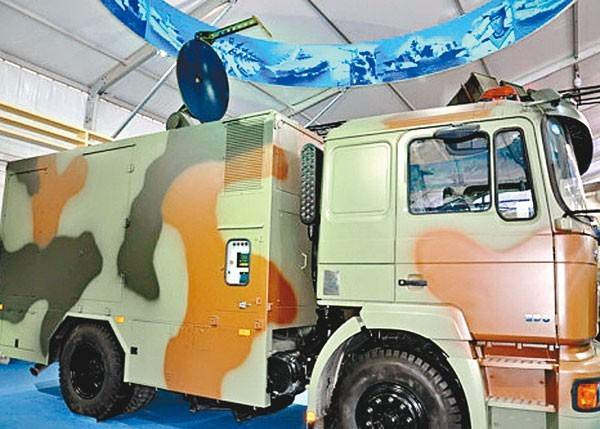 這套「WB-I型防暴拒止系統」曾在2014年底的珠海航展亮相,類似美國雷神公司開發的主動拒止系統(ADS)。(圖片擷取自網路)