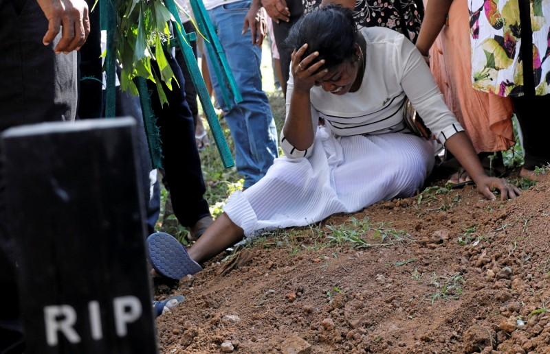 本月21日復活節當天斯里蘭發生8起爆炸案,至少造成321人死亡、逾500人受傷。(路透)