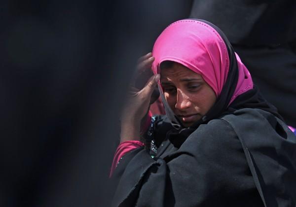 盧森堡歐洲聯盟法院今判決,雇主可禁止員工穿戴伊斯蘭頭巾。(法新社)