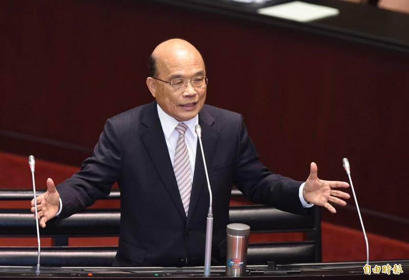 蘇貞昌不滿意司改成效 認應有恐龍法官退場等措施