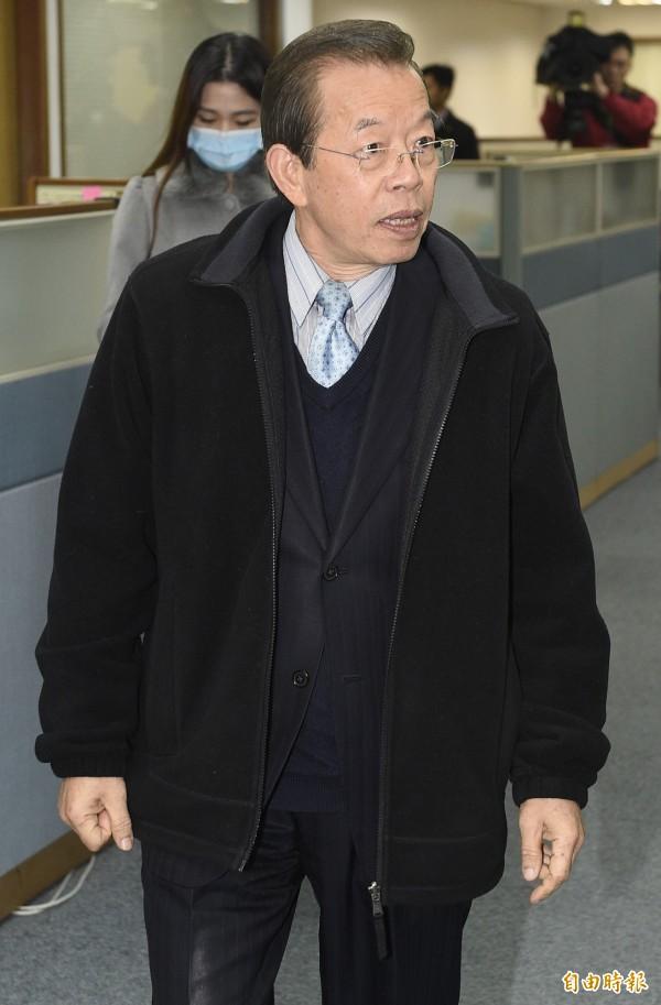 前行政院長謝長廷認為,若誤解王毅的言論,「應該是一廂情願的樂觀和誤解」。(資料照,記者陳志曲攝)