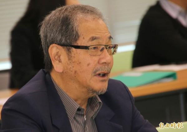 新潮流大老、民進黨前秘書長吳乃仁決定退出民進黨、退出新潮流。(資料照)