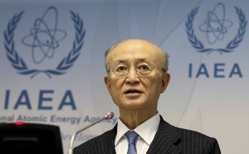 國際原子能總署(IAEA)今(22)日宣布,該機構總幹事天野之彌已離世,享壽72歲。(美聯社)