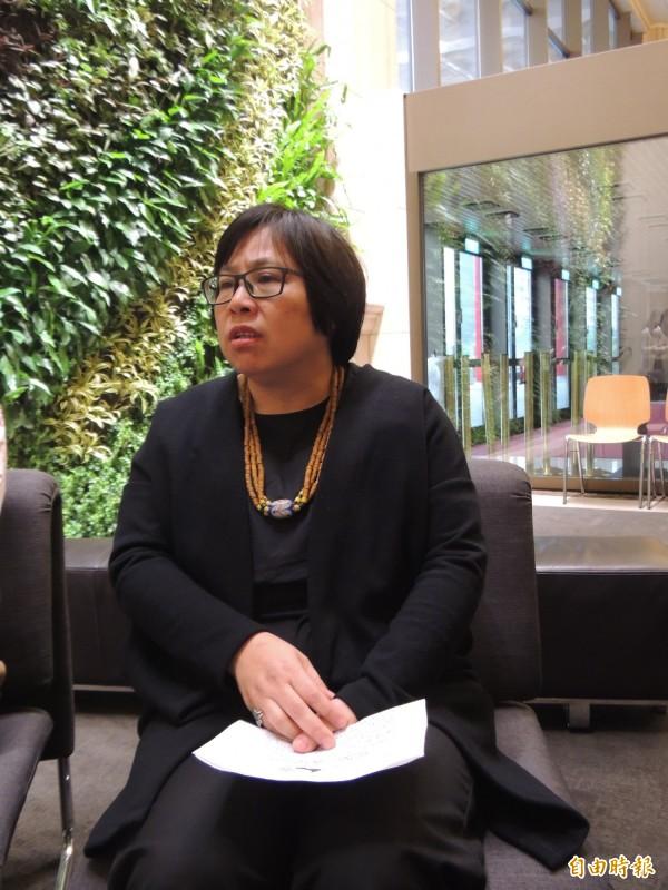 兩廳院被批官僚,總監李惠美今天舉行記者會承諾將改進。(記者楊媛婷攝)