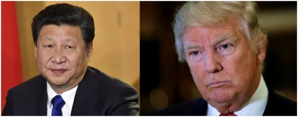 川普與習近平通電,雙方談及包括「一中政策」等多項議題。(路透)