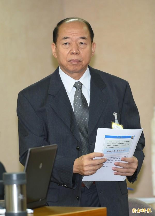 國安局長楊國強6日將赴立法院報告並備詢。(資料照,記者張嘉明攝)