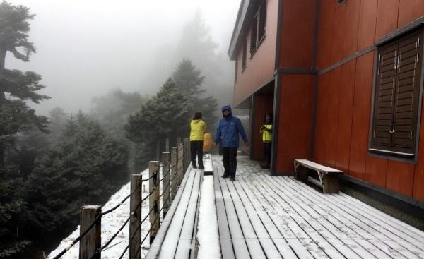 排雲山莊海拔3千4百多公尺。(資料照)