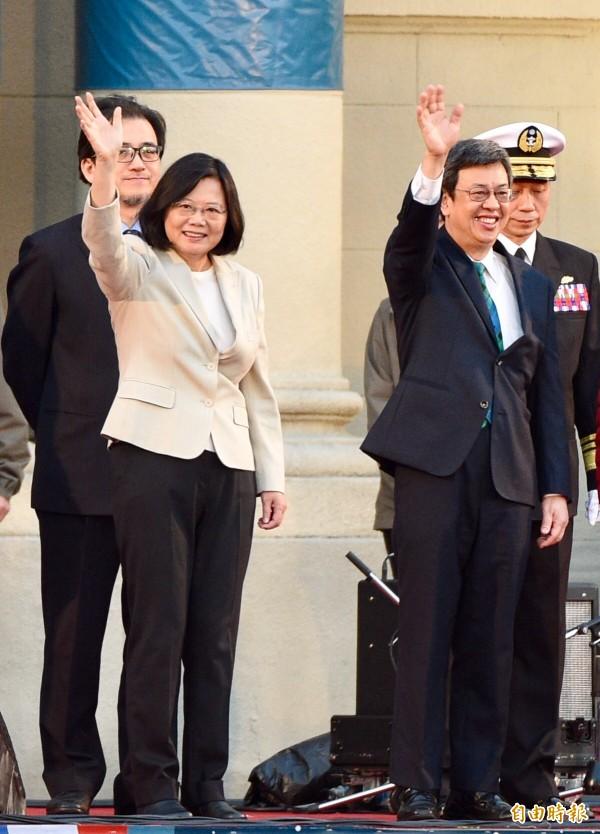年金改革國是會議今天上午9點在總統府登場,總統蔡英文、副總統陳建仁今天都將出席國是會議致詞。(資料照,記者羅沛德攝)