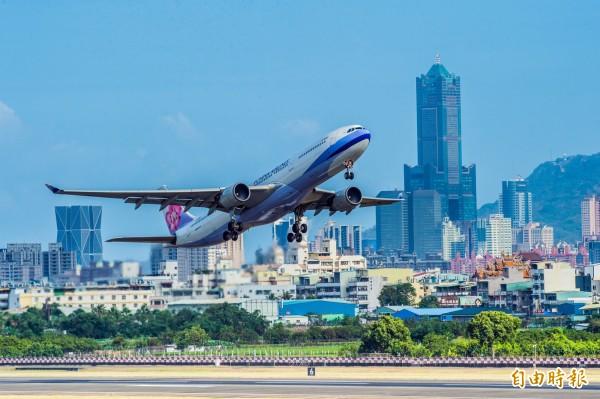 華航機師工會發動罷飛已5天。(資料照)