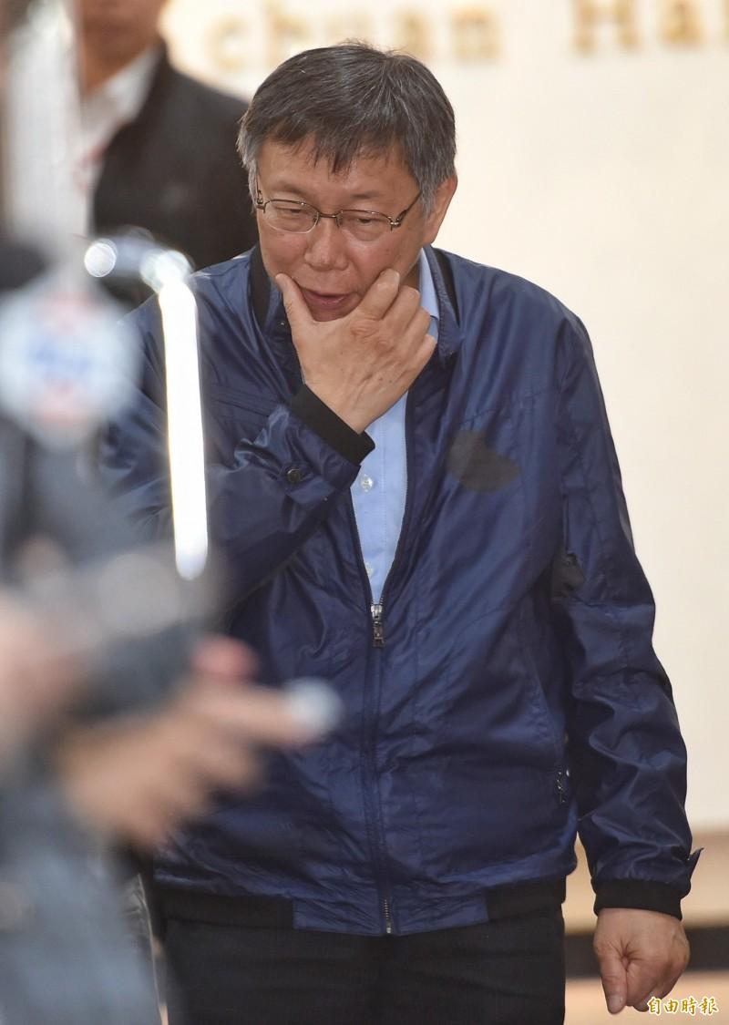北市府電腦又遭駭,傳台北市長柯文哲訪美資料外洩。(資料照)