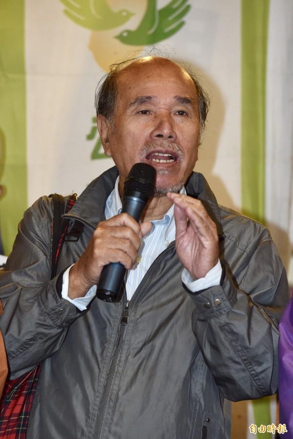 蔡丁貴認為,習近平看到台灣新世代年輕人教訓執政黨的無情,背脊一定會流冷汗。(資料照)