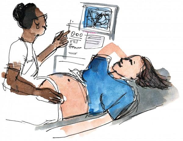 日前印度一名孕妇到医院进行生产时,2名男护理师喝醉酒,且未经医师许可的情况下接生,新生儿惨遭肢解。(情境图)