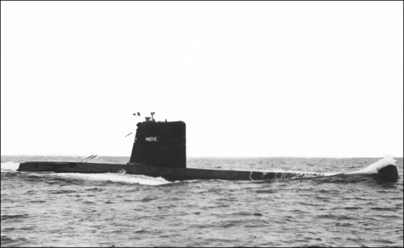 「智慧女神號」在1968年1月17日進行軍事演習,上午7時5分卻突然消失。(法新社)