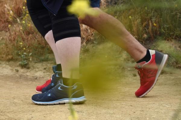 研究發現,走路速度快可以降低死亡風險。(法新社)
