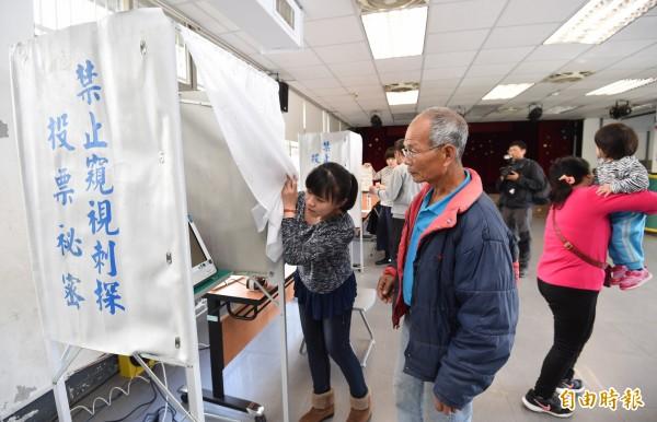社子島I-voting,總投票率為35.16%,共5091人投票,「生態社子島」獲得約3032票,超過59.56%支持。(記者劉信德攝)