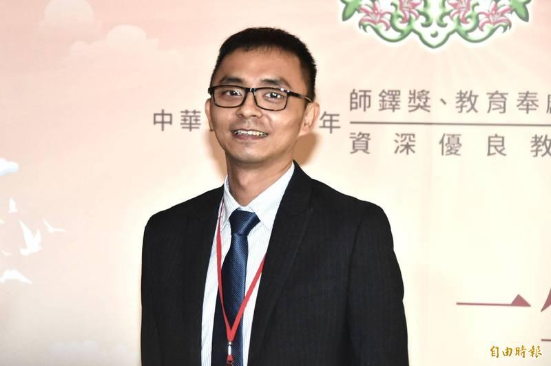 印尼泗水台灣學校教師張紹恆。(記者塗建榮攝)