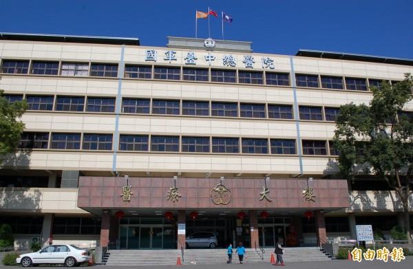 陸軍航特602旅13人確診罹患A型流感,國軍台中總醫院表示目前無群聚感染問題。(記者陳建志攝)