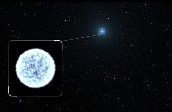 科學家推測,此異相可能是怪物級黑洞摧毀一顆路過的白矮星所致。(圖擷取自NASA)