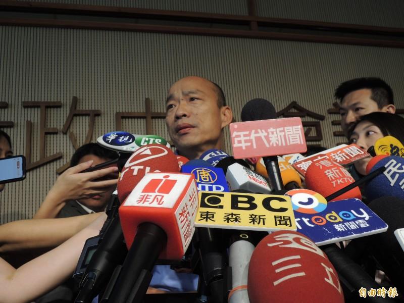 罷免高雄市長韓國瑜連署行動如火如荼進行中,7月15日可望達成10萬份連署目標。(記者王榮祥攝)