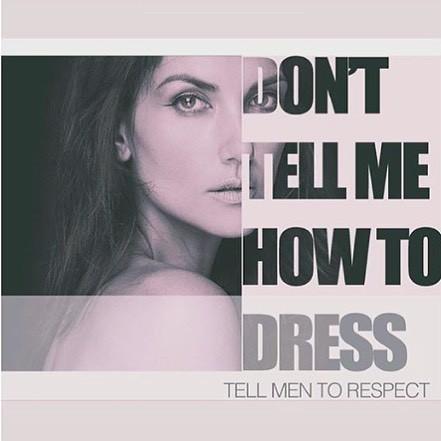 泰美混血模特兒畢曉普透過社群媒體發聲,強調不該把性騷擾歸罪在女性身上,男性也不該用女性的穿著為由來推卸性騷擾的責任。(圖擷自IG)