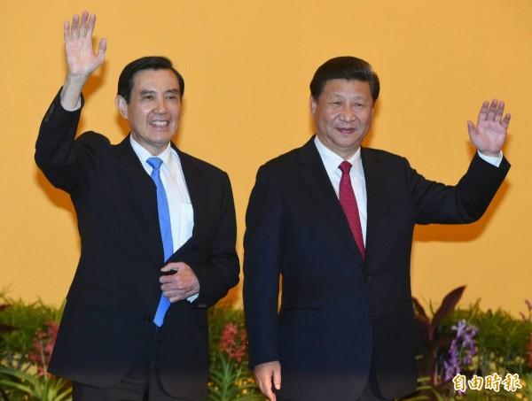 馬習會7日在新加坡登場,馬英九形容:「習近平是一個務實、率直的人。」(記者廖振輝攝)