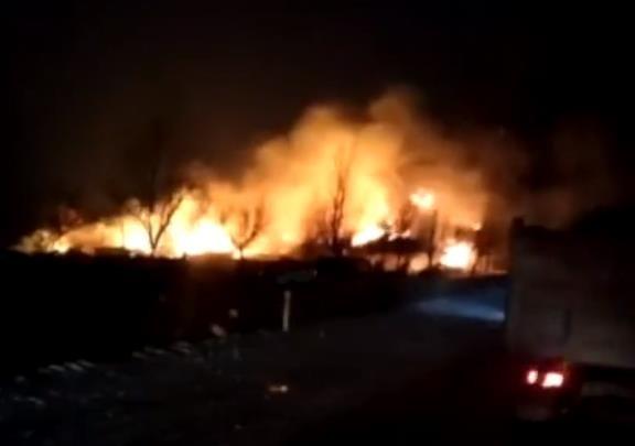 中國吉林省東豐縣一家機械廠發生爆炸,已知2死24傷41屋損,爆炸原因調查中。(圖擷取自網路)